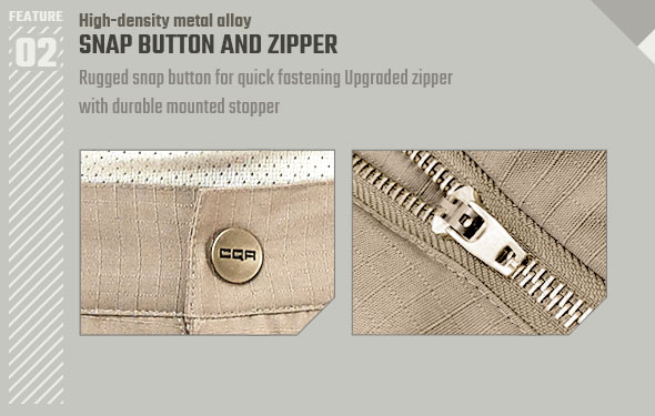 SNAP BUTTON and COIL ZIPPER